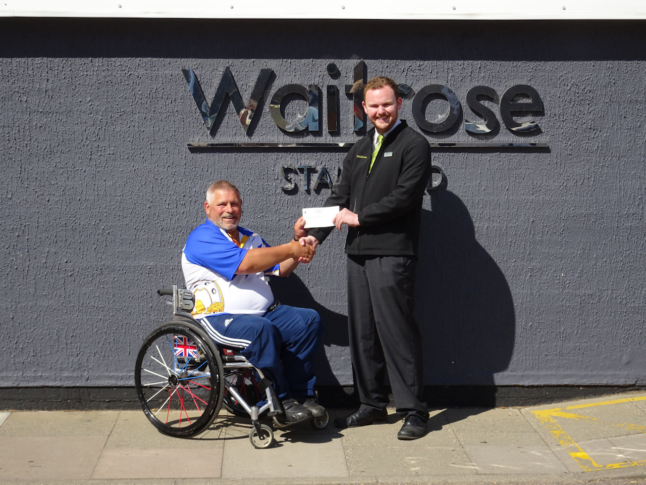 Waitrose cheque